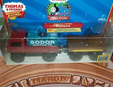 EXTREMELY RARE ~ THOMAS & FRIENDS WOODEN RAILWAY ~ LORRY W/ FLATBED ~ NEW IN BOX
