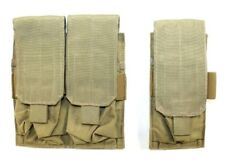 Eagle Allied Industries SFLCS Khaki Tan 1x2 2x2 Double 556 Mag Pouch MBSS