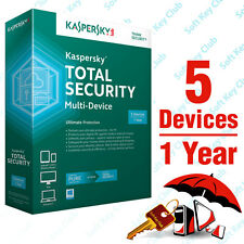 KASPERSKY TOTAL SECURITY Multi-Device 5PC/Device 1YEAR | PURE | DOWNLOAD | NO CD