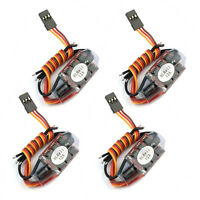 4PCS BLHELI 12A Brushless ESC Speed Controller 2-3S For 160-250 Drone Quadcopter
