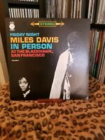 Miles Davis In Person Friday night at the Blackhawk Vol 1,  Vg+ / Vg+