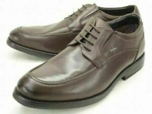 Clarks Mens Hopton Time GTX Gore-Tex Brown Leather Smart Comfort Shoes, 7.5