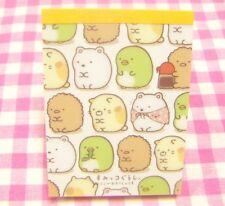 San-X Sumikko Gurashi Mini Memo Pad / Japan Stationery 2014