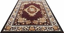 Floral Embossed Design Living Dining Bed Room Rug Carpet  5' x 7'