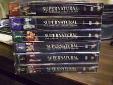 (6) Supernatural Season DVD Lot: Seasons 1, 2, 3, 4, 5, 6  w/Slipcovers  All NEW
