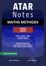 ATAR Notes VCE Maths Methods Units 1&2 Topic Tests