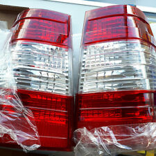 Mercedes Benz W124 S124 Wagon W124T 5D RED Clear REAR TAIL LIGHTS back light AMG