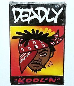 """DEADLY KOOLN SEALED RAP TAPE PRIVATE 1994 CASSETTE G FUNK RANDOM Og 12"""" lp nwa"""