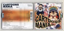 Cd CARTOONS MANIA Vol. 1 - PERFETTO SMI 2004 Sigle Tv cartoni volume 1