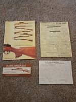 Vtg 1975 Gun Stocks by Bishop E. C. Bishop & Son Warsaw Missouri Catalog Booklet
