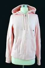NWT Abercrombie And Fitch Women Logo Graphic Hoodie Pink Medium