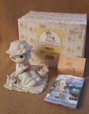 "Precious Moments Figurine 1997 ""We're so Hoppy you're here"" #261351"