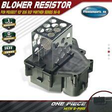Heater Blower Fan Resistor for Peugeot 107 206 307 Partner 9649247680 1996-2018