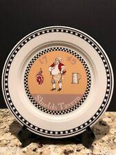 "Vintage Homer Laughlin SHIELDS TAVERN 9"" Restaurant Plate Williamsburg USA"