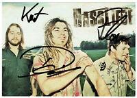 HASSLIEBE - original signierte Autogrammkarte - hand signed