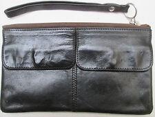 -AUTHENTIQUE  sac pochette LONGCHAMP   cuir   (T)BEG   bag vintage 50's