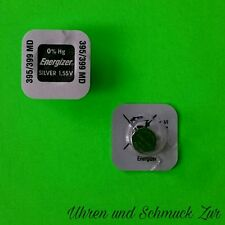 Cell sr927sw sr927w ag7 Silver 1,55v 2x Energizer 395/399 Watch Battery Button
