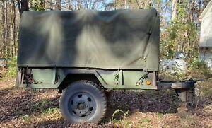 Military trailer M 105 A1