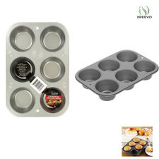 6 Cup Muffin Cooking Pan Steel Bakeware Baking Muffins & Cupcakes