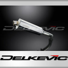 """BMW K1200GT Stubby 14"""" Stainless Steel Oval Muffler Exhaust 06 07 08 09 10 11"""