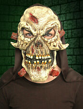 Hooded Latex Skull Mask - Fancy Dress - Halloween Decoration Party - New