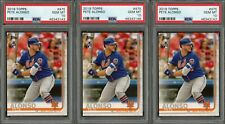 Lot of (3) 2019 Topps #475 Pete Alonso RC Rookie New York Mets PSA 10 GEM MINT