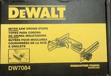 DeWalt DW7084 Crown Stops