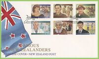 New Zealand 1995 Famous People First Day Cover
