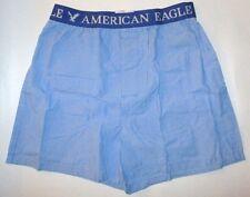 MENS AMERICAN EAGLE BLUE BOXER SHORTS SIZE L (35/38)