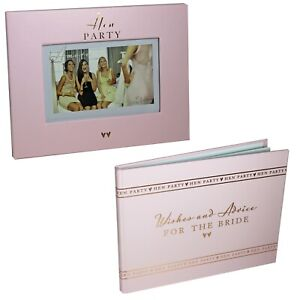 Amore Pink Hen Party Guest Book or Photo Frame