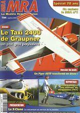 MRA N°794 TAXI 2400 DE GRAUPNER / PIPER ARTF / X-CLONE / SPECIAL 70 ANS (n°01)