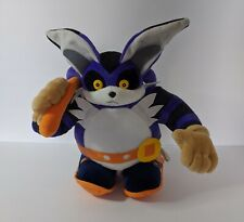 "VINTAGE SEGA Sonic The Hedgehog 12"" Big The Cat Plush 1999 RARE"