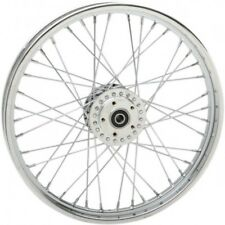 Front wheel 21x2 laced chrome - Drag specialties 64455