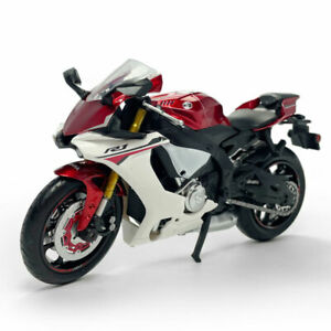1:12 Scale Yamaha YZF-R1 Motorcycle Model Diecast Sport Bike Toy Kids Gift Red