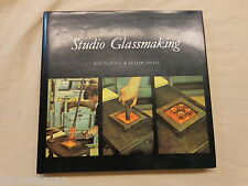 Studio Glassmaking by Ray Flavell and Claude Smale