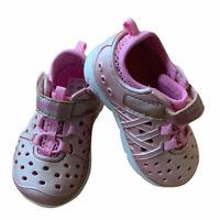 Stride Rite Aiden Navy /& Yellow Infant H/&L Strap Sandal Shoe BB37071 Size 7 M