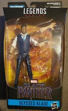 "Marvel Legends Avengers Ulysses Klaue 6"" Black Panther M'Baku Figure No BAF"