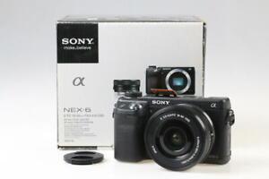 SONY NEX-6 mit 16-50mm f/3,5-5,6 OOS - SNr: 5101479