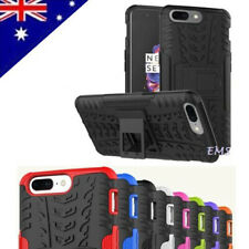 For OnePlus 5 5T Shockproof Heavy Duty Tough Kickstand Rugged Bumper Case Cover