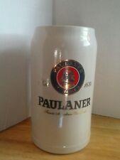 PAULANER MUNCHEN GERMAN PORCELAIN COLLECTIBLE BEER STEIN save $15 was $29.99