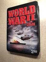 World War II In Color 2 DVD Set 2007 ISBN 0741116286 (100% Donation)
