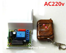 AC 220V 10A relay 1CH wireless RF Remote Control Switch Transmitter+ Receiver