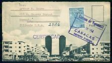 Mayfairstamps Venezuela 1954 Certified Caracas Buildings Cover wwi_87879