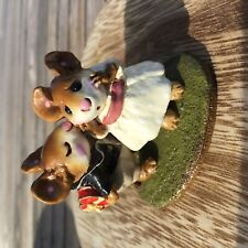 Wee Forest Folk 1993 LOVE RARE Collectible Annette Peterson