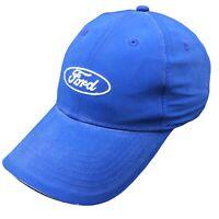 Falcon Ford Hat Mens Adjustable Strap Back Blue Logo Cap