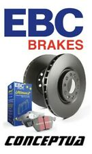 EBC Premium Pair of Front Brake Discs/Rotors and Pads Kit For Honda S2000 AP1
