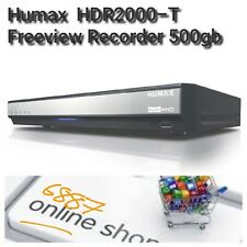 NEW Boxed Humax HDR-2000T 500GB HDD Smart Freeview+ HD Digital TV Recorder