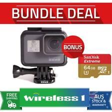 Buy GoPro HERO5 Black 4K Ultra HD Camera (CHDHX-501) Bonus Sandisk 64GB Extreme