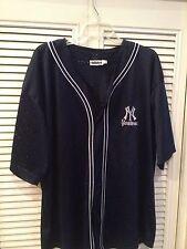 Vintage Adidas New York Yankees Baseball Jersey Large & Awesome!