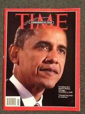 OBAMA TIME MAGAZINE NOVEMBER 17 2008 COMMEMORATIVE ISSUE 11/17/08 NEW - NO LABEL